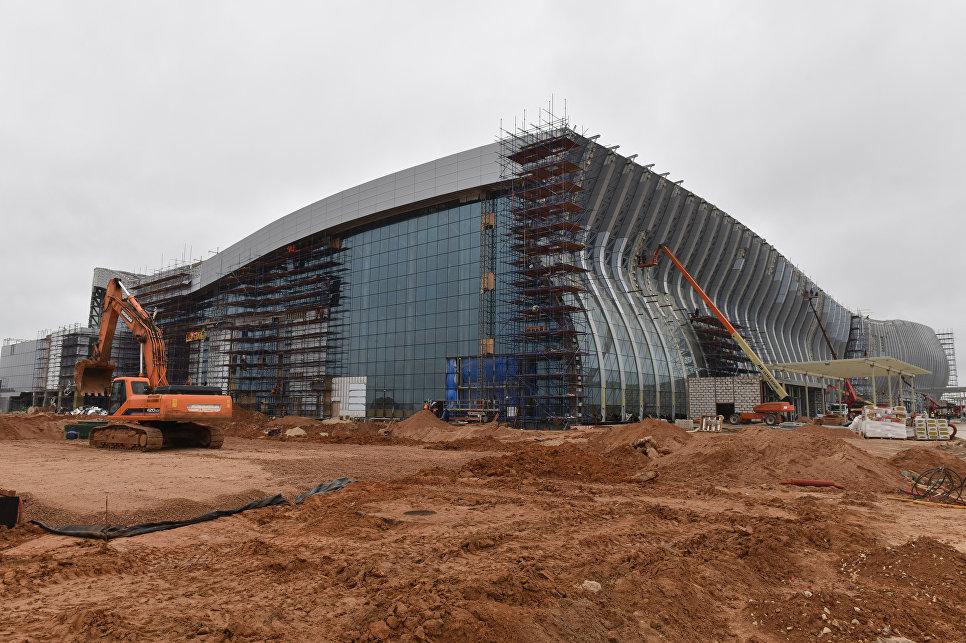 До конца года в новом аэропорту Симферополя включат отопление, воду и электричество